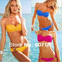 2013 fashion Lady Swimwear Bikini Sexy Shoulder strap for Women bathing free shipping