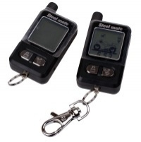 Two Way Steelmate Martian Series Motorcycle Alarm With Two Controllers - 8003 (986G)