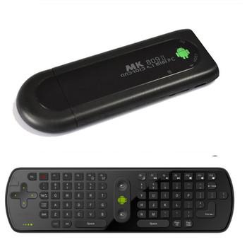 Free shipping USB Google TV box Android 4.1 Mini PC+RC11 RK3066 MK809 II Dual Core