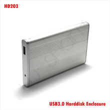 "HD203 USB3.0 Harddisk Enclosure for 2.5"" Hdds supports up to 1 TB at Super Speed of 5Gbps(China (Mainland))"