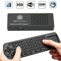 Newest MK808 Mini PC Android 4.1 RK3066 A9 Dual Core TV Dongle set with RC12 Remote Control 1G+8G for HDTV
