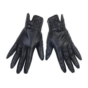 Fashion suede gloves repair women's genuine full leather hand leather gloves