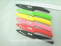 "2013 Hot!!! 4"" Inch High-tech High quality Fruit Vegetable Ceramic Knife, bread knife fruit knife,5 color handle select"