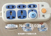 Free shipping two-phase plug seat electrical security lock as socket protective cover baby safety product prevent electric shock