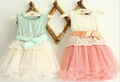 Wholesale - Summer Fashion Flower Girl's Baby dress Lace girls dress Children's dresses Kids wear Kids clothes