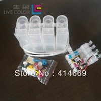 LIVE COLOR 1 set empty auto chip CISS for Epson T 1811 - T 1814,  for Epson XP 30 102 202 205 302 305 (Europe)