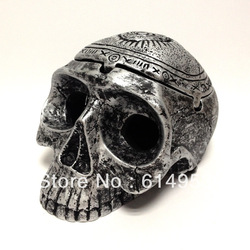 Eye out for smoke , High Quality Bone Decorations Vintage style resin crafts Skeleton Skeleton Ashtray Free Shipping(China (Mainland))