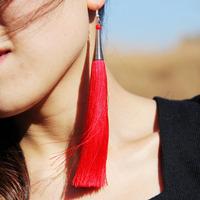 National trend accessories handmade exquisite chaeseokgang earrings earring drop earring national earrings rh-3110