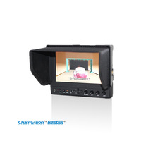 "LILLIPUT 663/O/P 7"" HDMI Field Monitor, Metal Shell 1280*800 Monitor, monitor for Camera, with Advanced Functions, HDMI output"