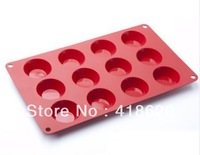 Silikit free shipping wholesale 100% silicone cake mould baking tools silicon molds 3d soap mold silicone baking supplies  T16