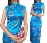 Fashion Chinese Women's Traditional Women's Evening Dress Cheongsam Size:S-3X L