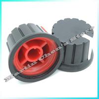 "Free shipping 50xBrand New 6mm 15/64"" Shaft Diameter Potentiometer Knobs"