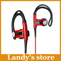 EMS DHL Free shipping ear-hook earphone black white red colors pb earphones