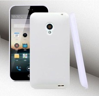 Soft TPU Back Case For Meizu MX2 Cell Phone Jelly Cover Black 6 color free shipping