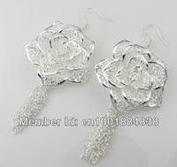 GY-PE263 Wholesale Lots Free Ship 925 silver fashion jewelry earrings 925 silver earrings on sale fpia ogpa wxya