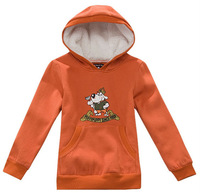 Wholesale 6 pcs Sring Autumn winter Children Child boy girl Kids baby cute cotton hoody hooded sweater outwear top PDQZ01P09