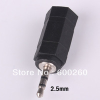 free shipping 2.5mm to 3.5mm Adapter Audio Plug Converter jack #9354