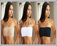 Free Shipping 180pcs/lot Bandeau Bra Seamless Tube Top Bra With Removable Pads