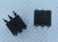 Free Shipping 4N35 EVERLIGHT DIP-6 IC 100PCS/Lot