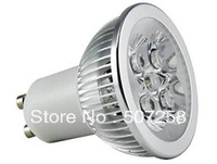 gu10 base 10watt MR16 LED lamp, 100-240vac, not dimmable spotlight flood bulbs, 5pcs/lot wholesale free shppiing 201308G