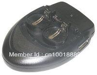 Smart charger for Dual Li-Ion Button Cells 3.6V LIR2032   E-C2032