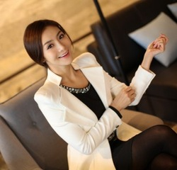 The new spring 2013 women blouse business attire Custom(China (Mainland))