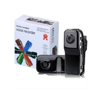 Free shipping Luxury Black Mini DV Camcorder DVR Video Camera  Webcam MD80