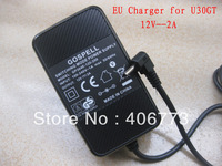 Original  U30GT EU Charger  Adapter Original  U30GT2 EU Charger 12V 2A  charger Adapter for cube U30GT U30GT2