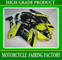 High quality fairings kit for KAWASAKI 2007 2008 ZX6R bodywork ZX-6R 07-08 ABS red/black motorcycle parts Fairing