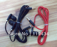 Free Shipping! 30pcs/lot Flat Cable New Fashion Cool In-Ear MP3 Headphone Earphone 4 Colors
