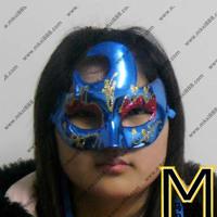 blue masquerade masks