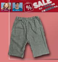 2013 Free Shipping Men 100% cotton coarse cotton pants at home pajama pants summer shorts lm-b749 TT