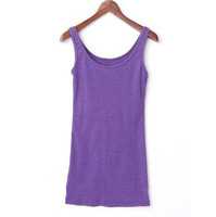 Middot . 2011 summer plus size clothing four seasons all-match cotton slim plus size vest