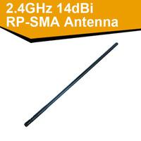 2.4GHz High power support 802.11 b/g/n 14dBi Wireless RP-SMA Antenna wifi antenna