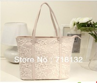 2013 new simple fashion generous bag lady lace bag handbag shoulder bags