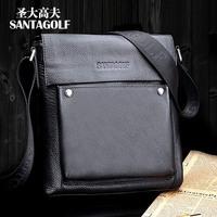 Holy gough cowhide man bag shoulder bag messenger bag leather bag as014-03