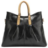 Christmas gift leather handbag women's japanned leather handbag brief women's messenger bag shoulder bag