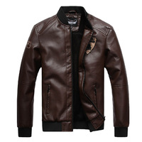 NO HAVE S XXS XS male plus velvet thickening thermal men's short leather jacket slim design male leather clothing
