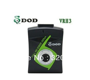 "100% Original DOD VRH3 Car DVR Recorder with External GPS Logger 2""  TFT LCD Screen H.264 G-Sensor"