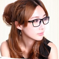 Free shipping 2013 New Vanis 's radiation-resistant glasses male Women computer goggles plain glass spectacles 5158, 4 Colors