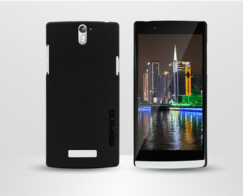 Original Genuine Brand Meifeng Quicksand Hard Case Skin Back Cover+Screen Protector for OPPO Find 5 X909 +Retail Box