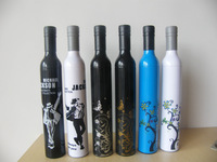 Personalized wine bottle umbrella folding umbrella sun protection umbrella bottled umbrella free shipping