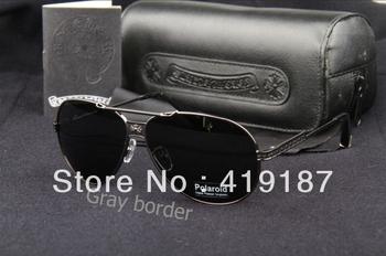 2013 new brand sunglasses Hot Products Sun Glasses 1pcs driver glasses UV400CE sunglasses men+Eyeglasses box MS-106  cool~~~