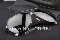 Free Shipping New sunglasses Sun Glasses New Design with Box tag clean cloth 2013 Fashion cool~~~