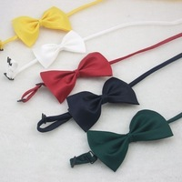 Lichuang classic male women's general solid color bow tie bow black bow tie