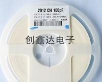 Free Shipping 200PCS 0805 100PF 101J 50V NPO 5% CHIP SMD Ceramic capacitor