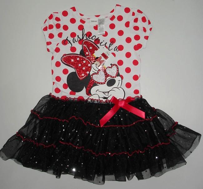 Diseños de vestidos de Minnie bebé - Imagui