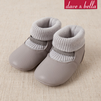 Davebella infant spring and autumn skidproof toddler shoes male female child soft faux db103 toddler shoes