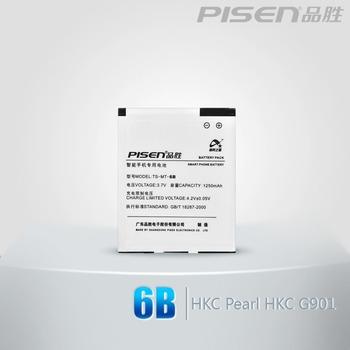 PISEN mobile phone hkc 6b battery pearl g901 i6 i9 i-mate c688