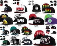 Baseball caps new style  Free shipping cartoon Pink Dolphin YUMS adjustable snapback hat/cap